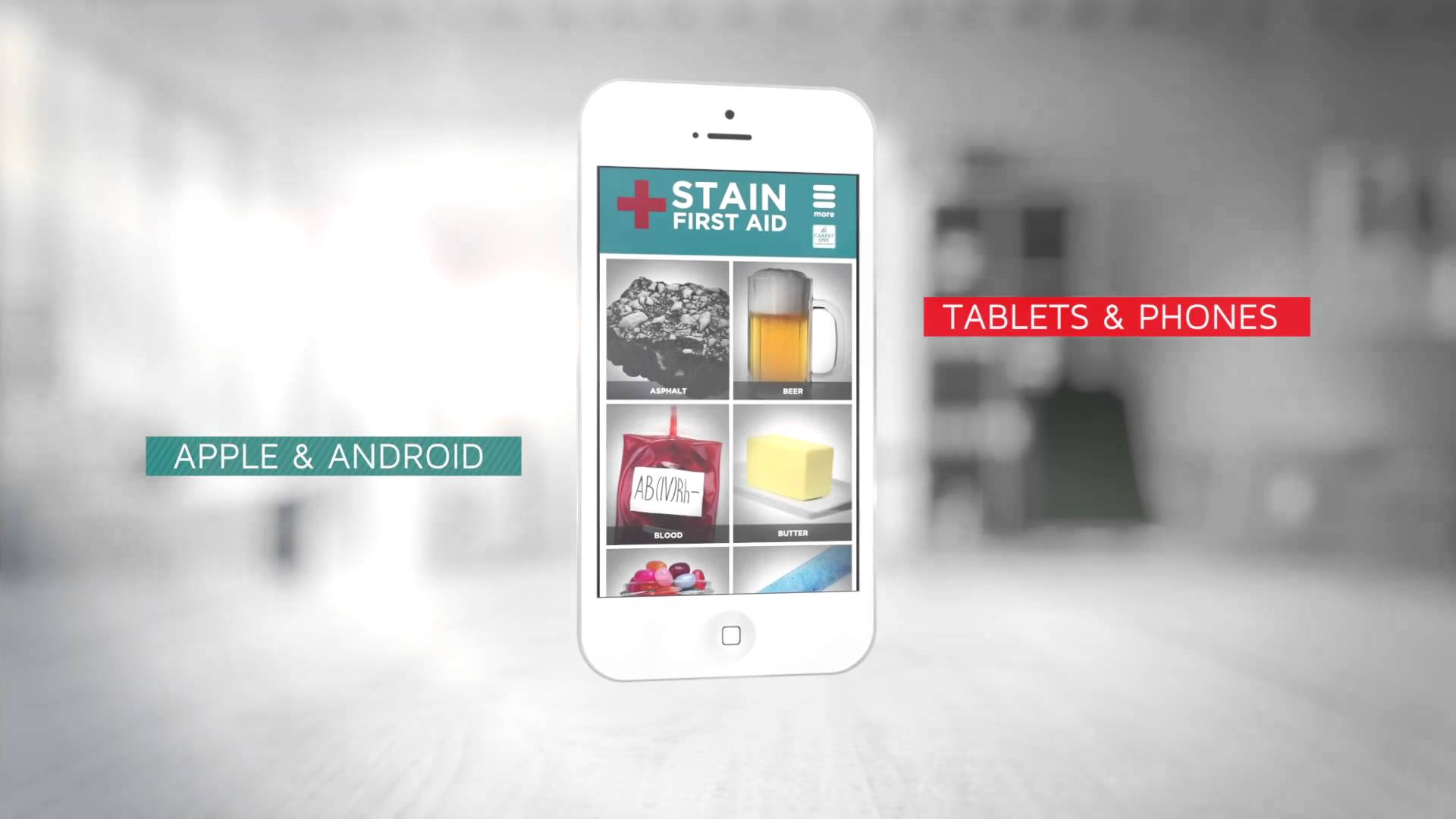 stain app, stain first aid